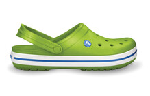 Crocs Crocband sandales vert/bleu